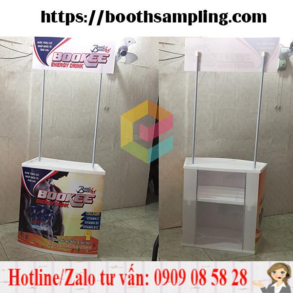 booth ban hang bang nhua