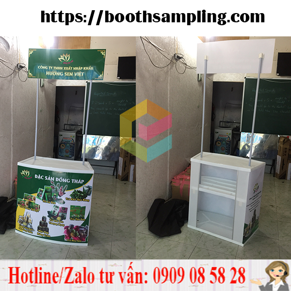 booth ban hang sampling gia re