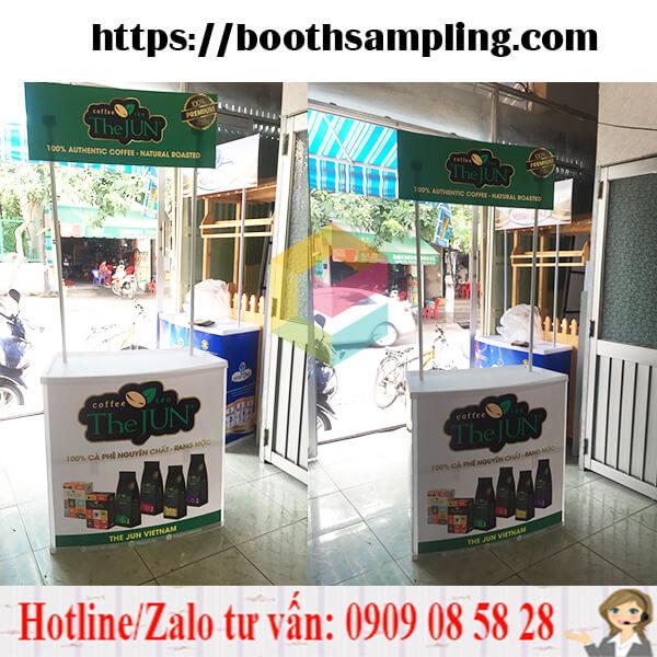 booth nhua sampling tphcm