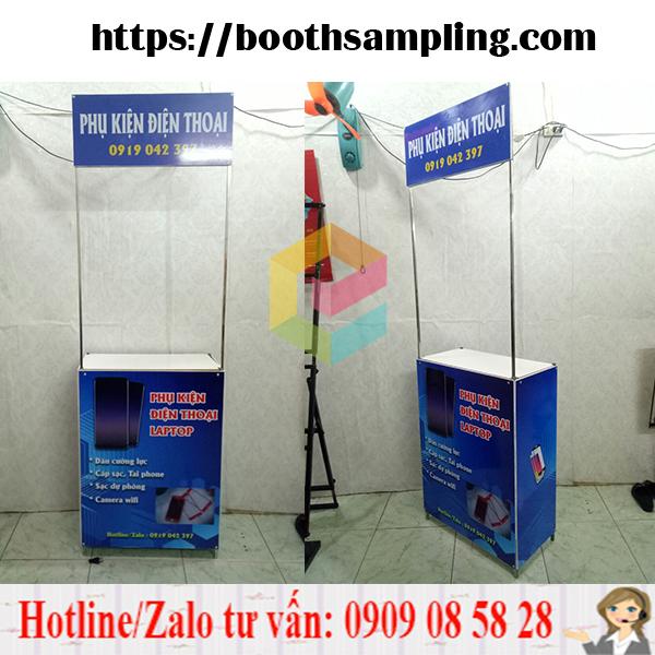 booth quang cao di dong bang sat