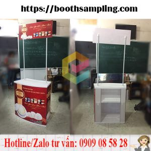 cung cap booth nhua sampling