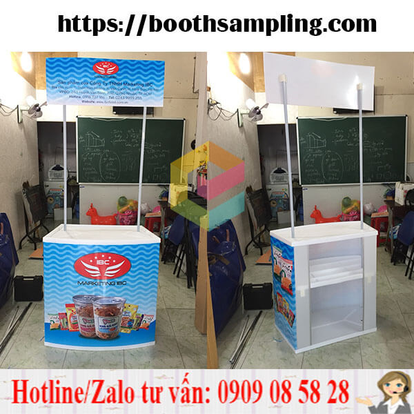 cung cap booth quang cao gia re