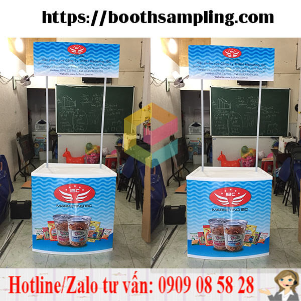 lam booth quang cao gia re