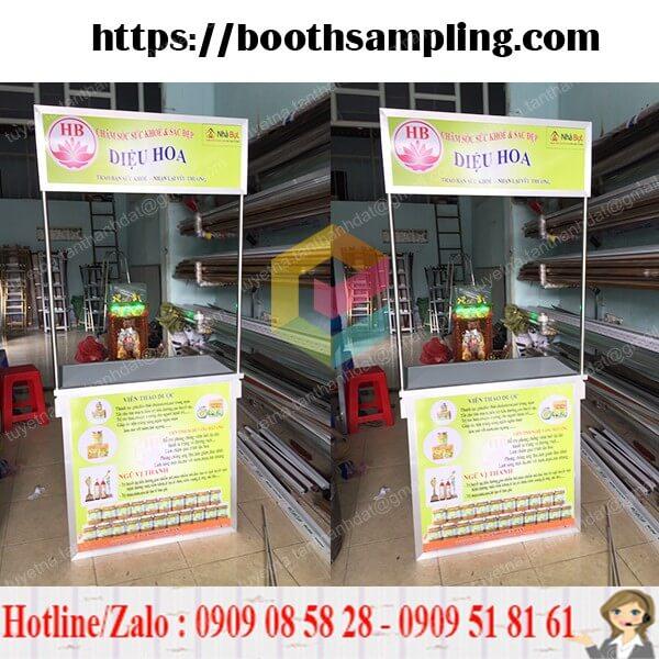 booth ban hang lap rap bang nhom