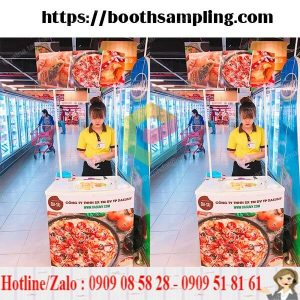 booth nhua lap rap