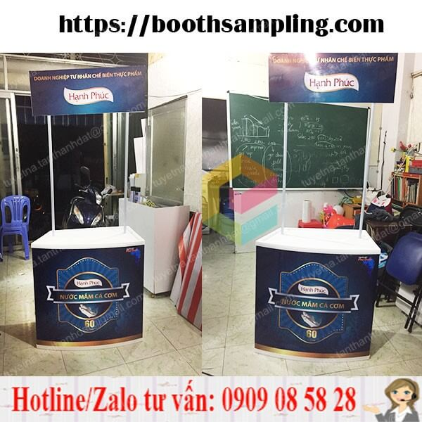 booth nhua