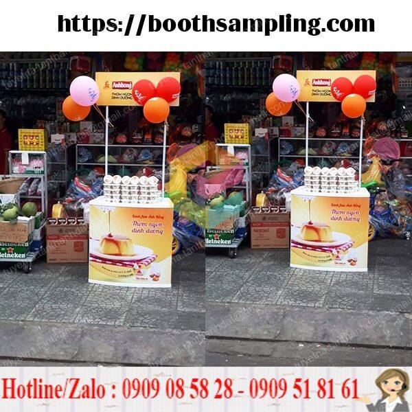 booth sampling nhua