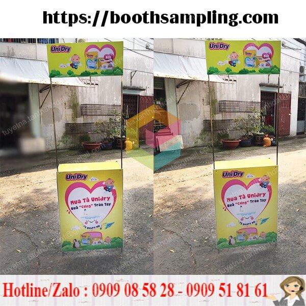 booth ban hang bang sat