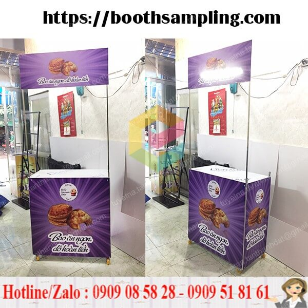 booth ban hang sampling tphcm