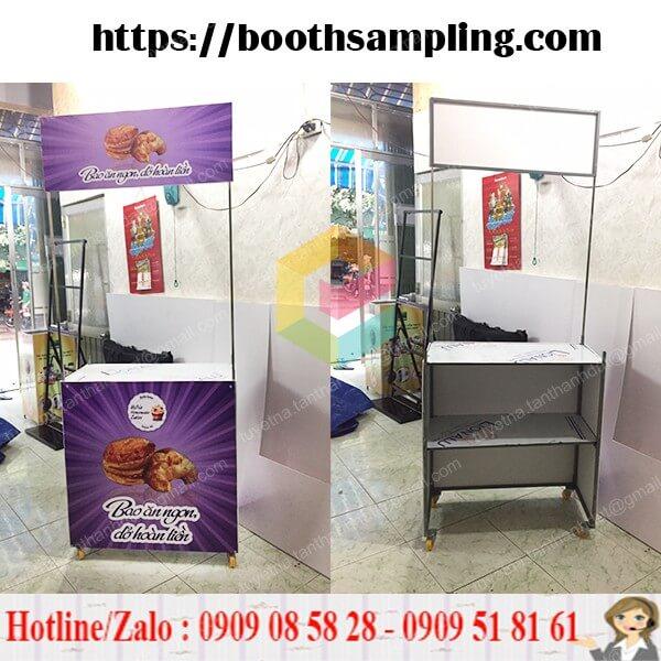 booth activation bang sat