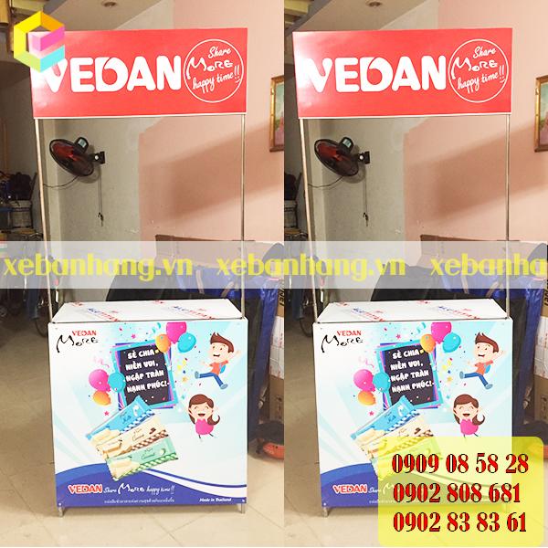 booth ban hang thuc pham