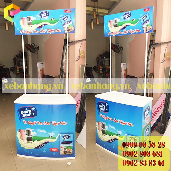 booth sampling bang nhua
