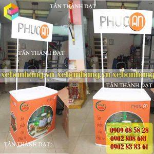 booth nhua ban thuc pham