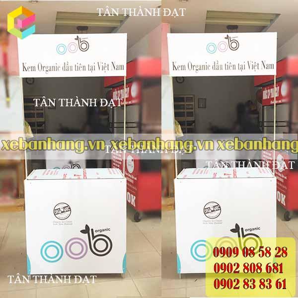 booth sat ban thuc pham luu dong