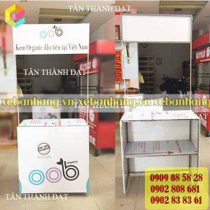 booth sat ban thuc pham dep