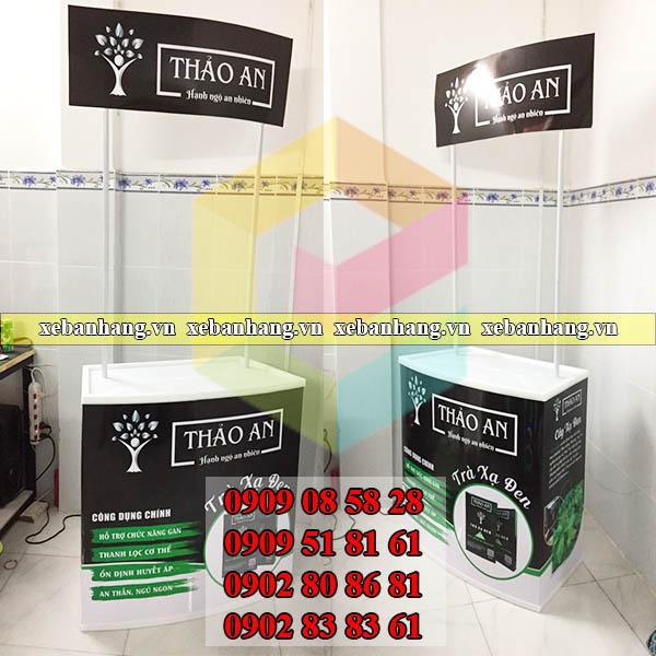 booth sampling thuc pham