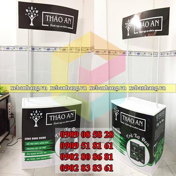 cung cap booth sampling thuc pham