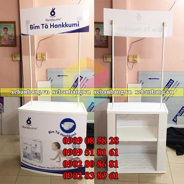 booth mini quang cao san pham gia re