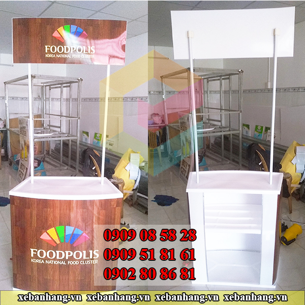 booth sampling nhua dep