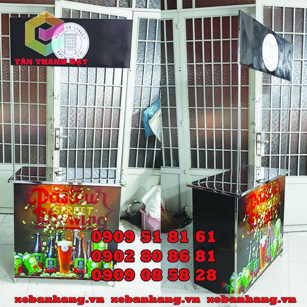 booth ban hang inox tphcm