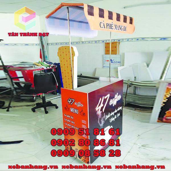 booth lap rap ban cafe di dong