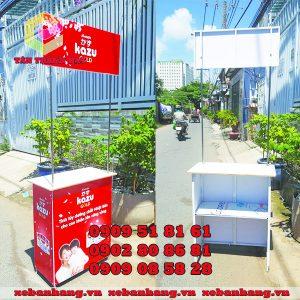 booth sieu thi quang cao san pham