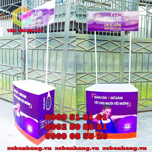 booth lap rap bang nhua